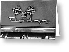 1956 Chevy 500 Series Photo 8 Greeting Card by Anna Villarreal Garbis
