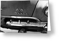 1956 Dodge 500 Series Photo 2 Greeting Card by Anna Villarreal Garbis