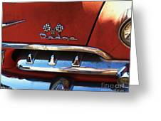 1956 Dodge 500 Series Photo 2b Greeting Card by Anna Villarreal Garbis