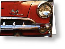 1956 Dodge 500 Series Photo 5b Greeting Card by Anna Villarreal Garbis