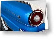 1957 Ford Fairlane 500 Greeting Card by Dorothy Menera