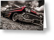 1958 Chev Biscayne Greeting Card by motography aka Phil Clark