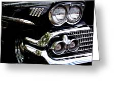 1958 Chevy Bel Air Greeting Card by David Patterson