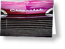 1959 Chevy Biscayne Greeting Card by David Patterson