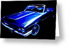 1964 Thunderbird Greeting Card by Phil 'motography' Clark