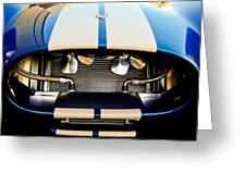 1965 Shelby Cobra Grille Greeting Card by Jill Reger