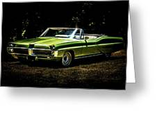 1967 Pontiac Bonneville Greeting Card by motography aka Phil Clark