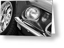 1969 Ford Mustang Mach 1 Front End Greeting Card by Jill Reger