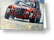 1971 Mercedes-benz Amg 300sel Greeting Card by Yuriy Shevchuk
