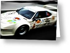 1980 Bmw M1 Procar Greeting Card by Phil 'motography' Clark