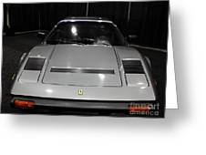 1984 Ferrari 308 Gts Qv - 5d19817 Greeting Card by Wingsdomain Art and Photography