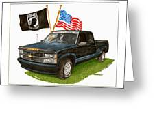 1988 Chevrolet M I A Tribute Greeting Card by Jack Pumphrey