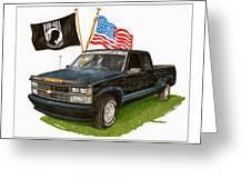 1988 Chevrolet M I A Tribute Greeting Card by Jack Pumphrey