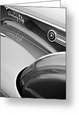 1941 Packard 1907 Custom Eight One-eighty Lebaron Sport Brougham Side Emblems Greeting Card by Jill Reger