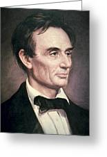 Abraham Lincoln Greeting Card by George Peter Alexander Healy