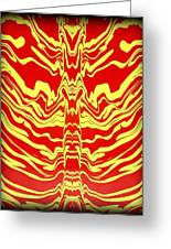 Abstract 48 Greeting Card by J D Owen