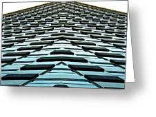 Abstract Buildings 1 Greeting Card by J D Owen