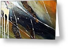 Abstract Greeting Card by Ismeta Gruenwald