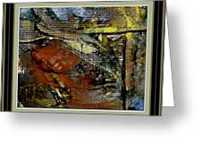 Abstract Rhapsody Greeting Card by Pemaro