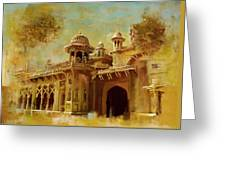 Aitchison College Greeting Card by Catf