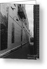 Alley Greeting Card by Michelle OConnor