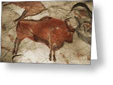 Altamira Cave Paintings Greeting Card by Photo Researchers