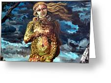 Aphrodite-venus Greeting Card by Genio GgXpress