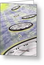 As Time Goes By Greeting Card by Mike McGlothlen