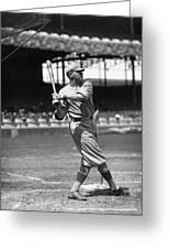 Babe Ruth New York Yankees Greeting Card by Retro Images Archive
