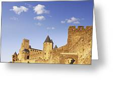 Carcassonne Languedoc-roussillon France Greeting Card by Colin and Linda McKie