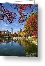 Charlotte North Carolina Marshall Park Greeting Card by Jill Lang