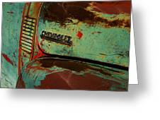Chevrolet Greeting Card by Gia Marie Houck