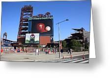 Citizens Bank Park - Philadelphia Phillies Greeting Card by Frank Romeo