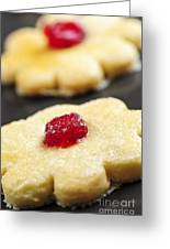 Cookies Greeting Card by Elena Elisseeva