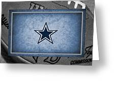 Dallas Cowboys Greeting Card by Joe Hamilton