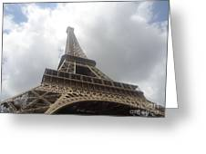 Eiffel Tower  Greeting Card by Tashia  Summers