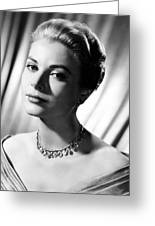 Grace Kelly Greeting Card by Silver Screen