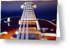 Guitar Greeting Card by Stelio Photography