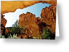 Juniper Gulch Oregon Greeting Card by Ed  Riche