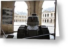 Les Invalides - Paris France - 01133 Greeting Card by DC Photographer