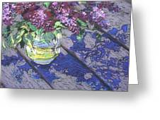 Lilacs Greeting Card by Gloria  Nilsson