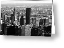 Manhattan Greeting Card by RicardMN Photography
