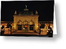 Memorial Hall - Philadelphia Greeting Card by Bill Cannon