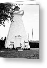 Niagara On The Lake Lighthouse Greeting Card by Scott Pellegrin