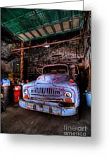 Old Pickup Truck Hdr Greeting Card by Amy Cicconi