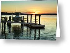 On The Waterfront Greeting Card by Phill  Doherty