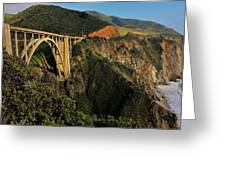 Pacific Coast Highway Greeting Card by Benjamin Yeager