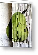 Pear Greeting Card by Elena Nosyreva