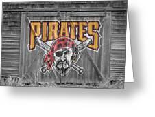 Pittsburgh Pirates Greeting Card by Joe Hamilton