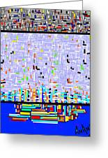 Pure Abstraction-2 Greeting Card by Anand Swaroop Manchiraju